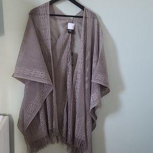 ✨GUESS Fringe Lace Kimono